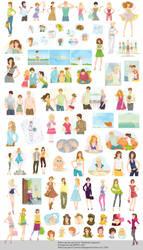 Best Friend Book Illustrations by lanitta