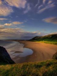 the beach by photo-earth