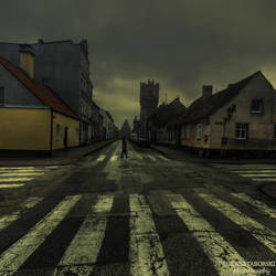 sometimes we must cross over by photo-earth