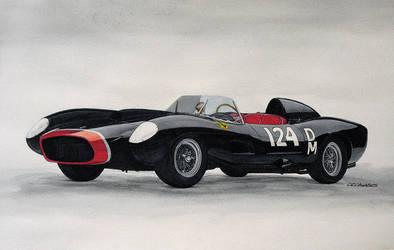 Ferrari 250 Testa Rossa 1957 by CRCavazos