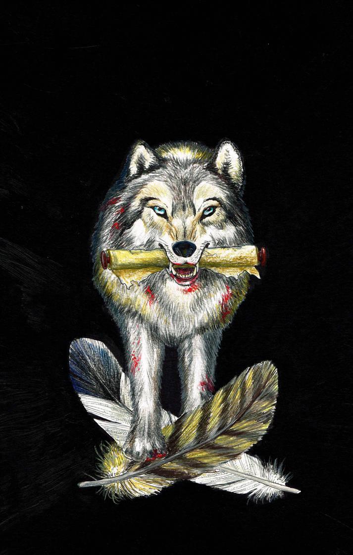 Wolf Sketch5 by CRCavazos