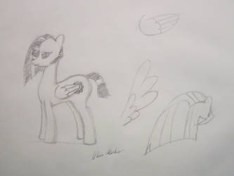 Kyth Sketch Sheet (Practice) by StrykerBrony