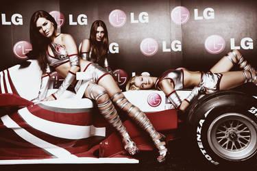 LG Girls Formula1 Istanbul09 I by mehmeturgut