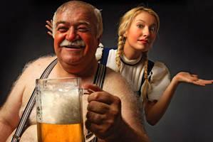 heidi and grandfather . . . 2 by mehmeturgut