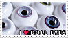 Doll Eyes Love by thesaraghina