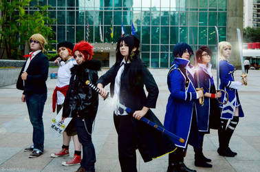 K Project - different colors by NeeYumi