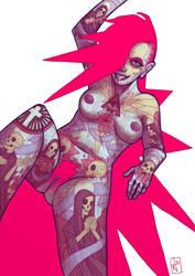 Tattoo the Girl by JohnnyRiesgo