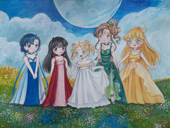 Princesses of the Silver Millenium by Delight046