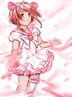 Doodle: Sailor Sakura by Delight046