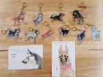 Fanmade Ginga Keychains by Demonized-Star