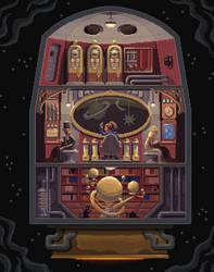 Scene #33: 'Space Explorers' by octavinavarro