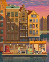 Scene #38: 'The Boathouse' by octavinavarro