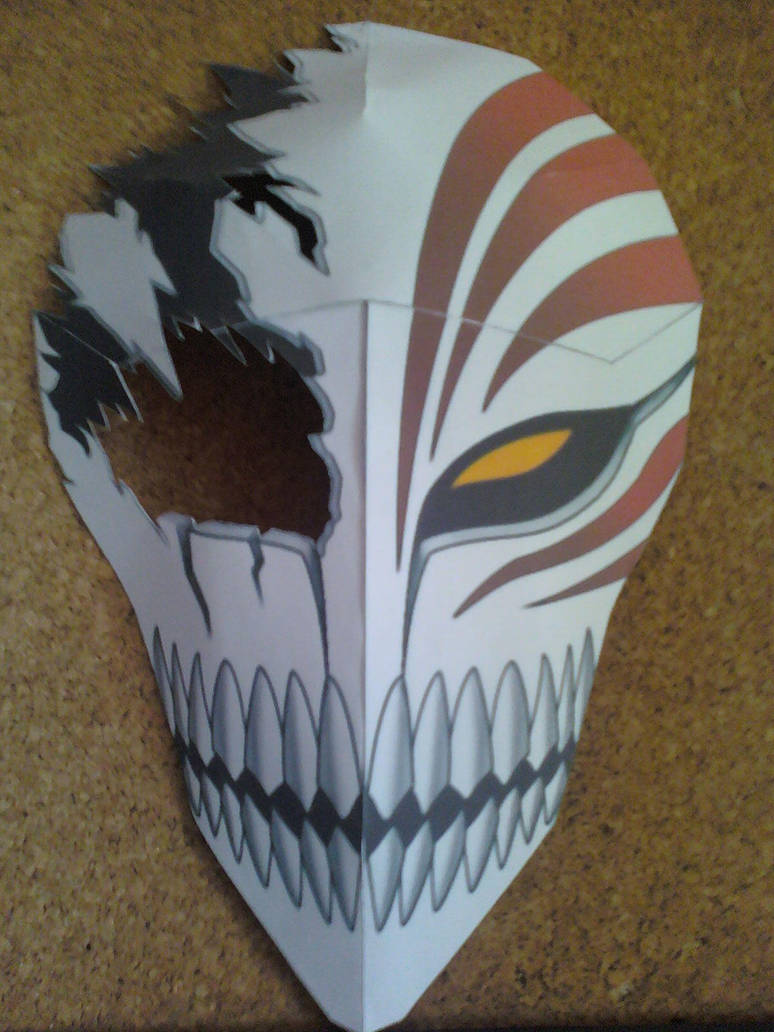 Have hit bleach hollow mask papercraft interesting. You