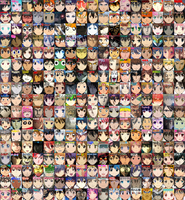 Anime Protagonists (Beta lol) by rubenimus21