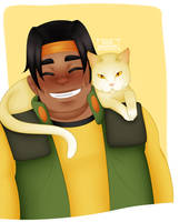 Hunk and Yellow by oceanstide