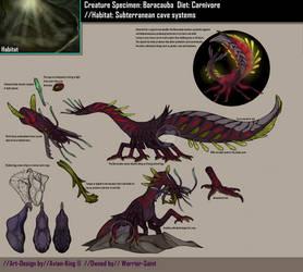 Creature design: Boracauba by Avian-king