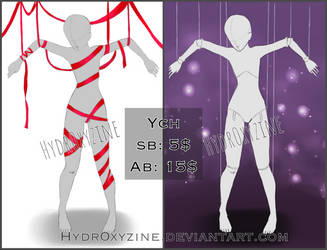 + Ties YCH [1/2 OPEN] + by Hydr0xyzine