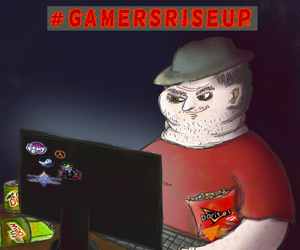 Gamer Flag by LasagnaTheTrashcan