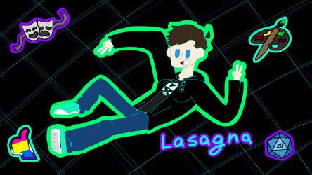 Lasagna (Channel Banner) by LasagnaTheTrashcan