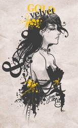 Gold Velvet by bw-inc