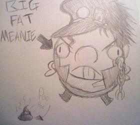 Jotaro Kujo THE BIG FAT MEANIE!!! (JoJo Parody) by Soniclover2010