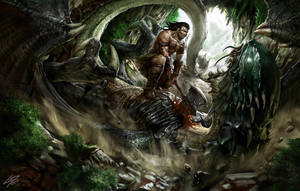 Citakuntor Beats the Wyrm by Herckeim