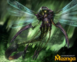 Giant Dragonfly by Herckeim