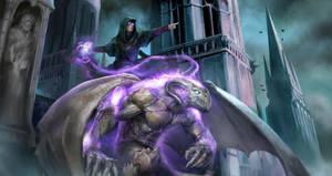 Gargoyle Summoner by Herckeim