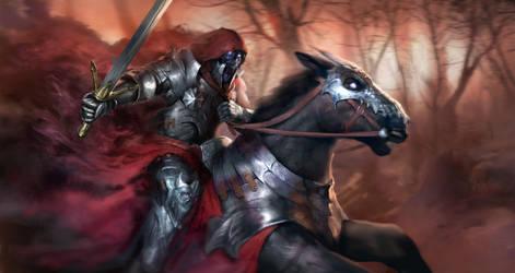 Shade Knight by Herckeim