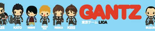 LICA GANTZ TOKYO TEAM by bunnypistol69