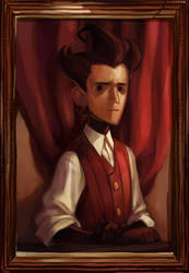 don't starve_Wilson by Arrrkal