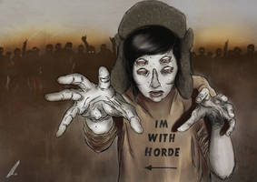 Im with horde. by AlexUnderwood