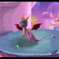 Spyro - Lofty Castles by TheMoonfall