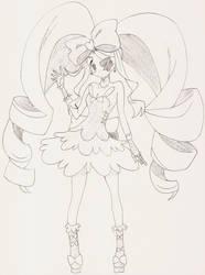 Nui Harime Pen Sketch - Kill-La-Kill by AaragonNega
