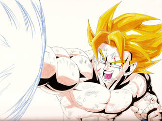 Goku by AaragonNega