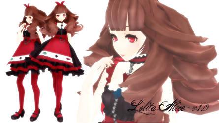 DL !WATCHER GIFT! MMD:Lolita Alice v1.0 by TrinityRaven