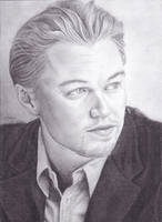 Leonardo DiCaprio by Azure-Mermaid
