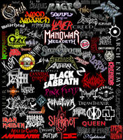 Metal bands by Toxinman