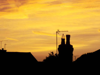 Sunset Sky by Lunodd
