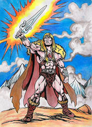 King Grayskull by danbrenus