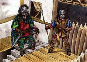 Night watch in Gaul by danbrenus