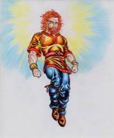 Belenos god of Sun by danbrenus