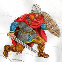 Viking raider by danbrenus