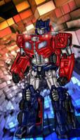 Titan master Optimus Prime by danbrenus