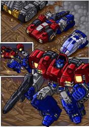 War Within Optimus Prime by danbrenus