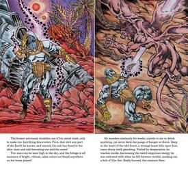 Apollyon press Cosmic Barbarian by danbrenus