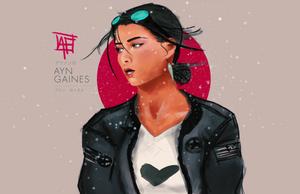 Ayn Gaines by alisonmf