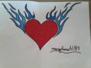 heart tattoo design by HerHeartCrafts