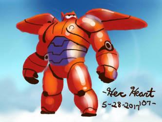 Baymax by HerHeartCrafts