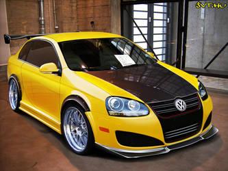 Volkswagen Jetta by blackdoggdesign